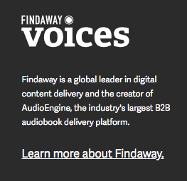 A project being distributed by my friends at Findaway Voices.