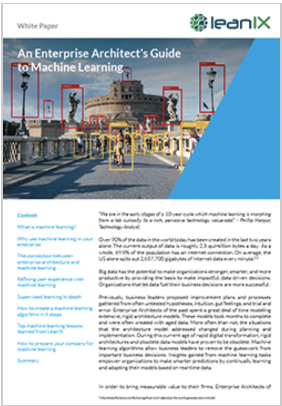 An Enterprise Architect's Guide to Machine Learning