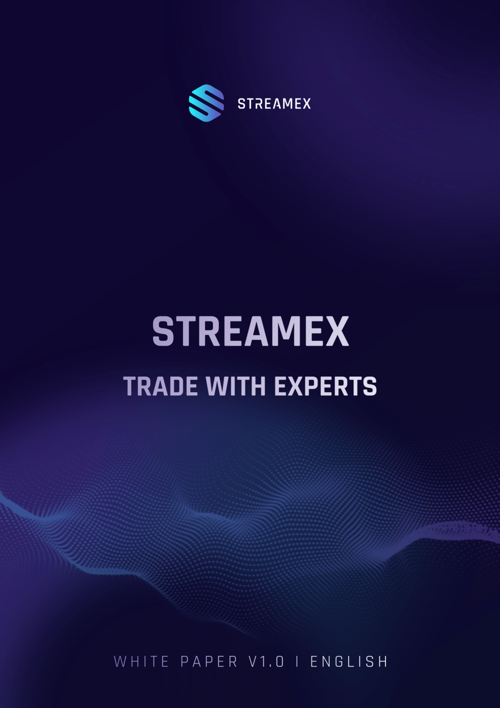 Streamex Crypto Exchange White Paper