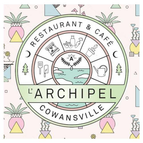 L'archipel café - Sur la terasse