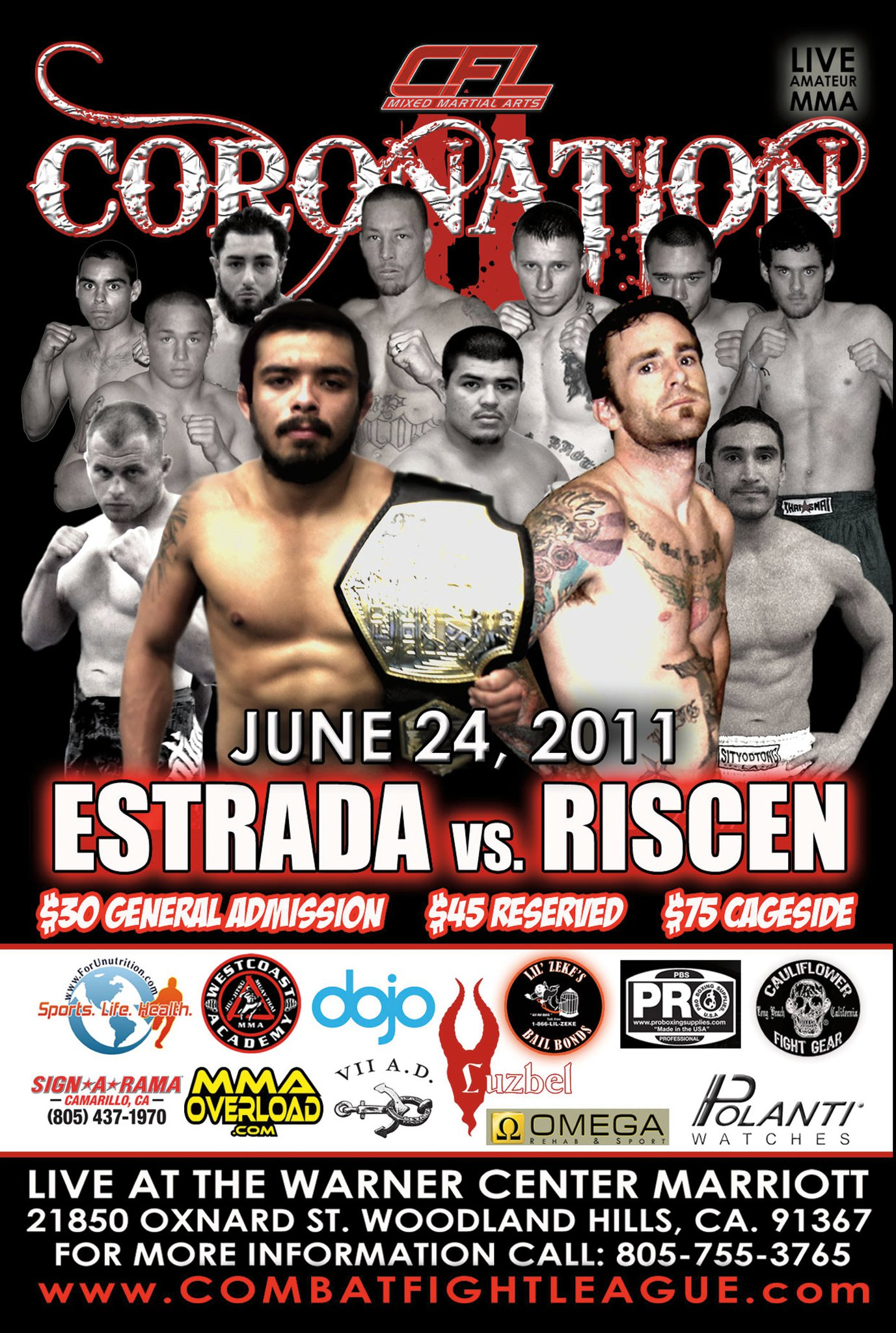 Tim Riscen fights tonight! — Morumbi Jiu Jitsu and Fitness Academy