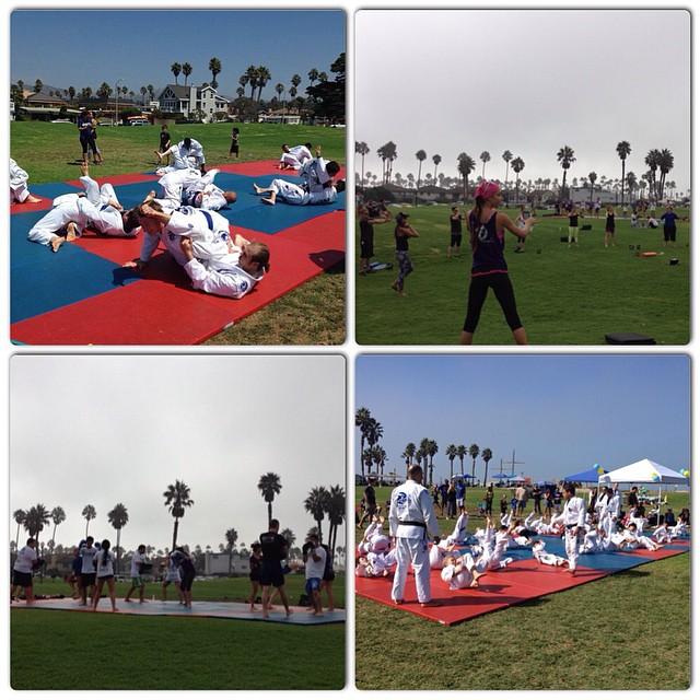 kids-jiu-jitsu-class-muay-thai-kickboxing-kettlebells-beach-training