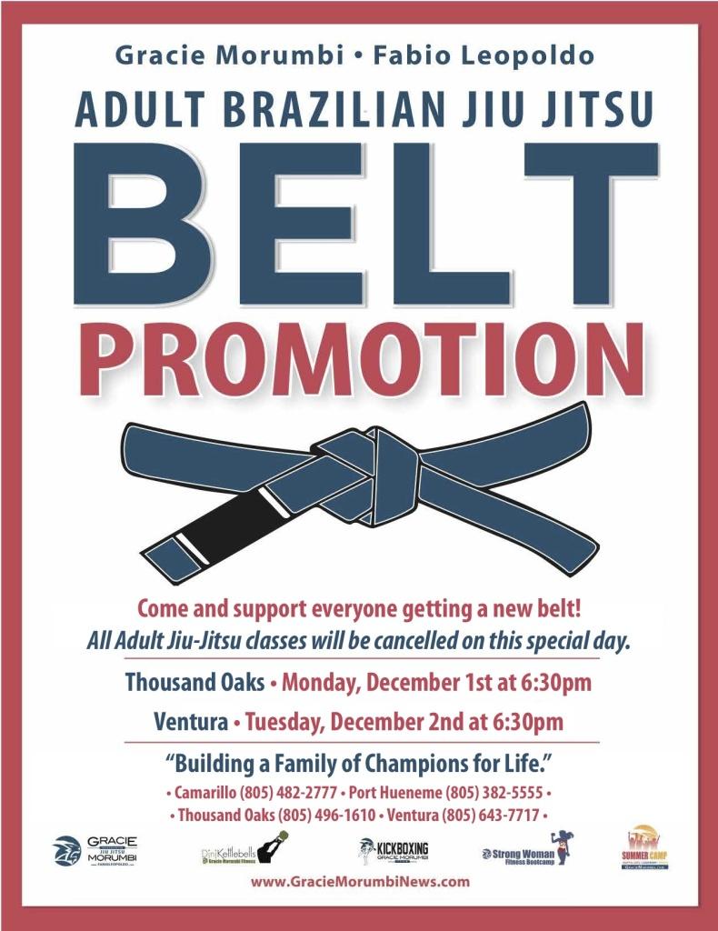 Belt Promotions 2014-1