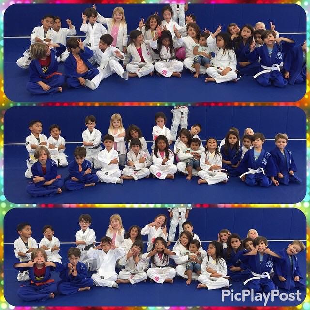 Kids Jiu jitsu birthday party