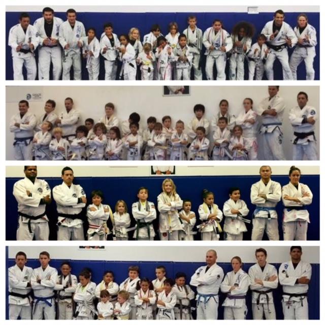 kids belt promotion ceremony jiu jitsu