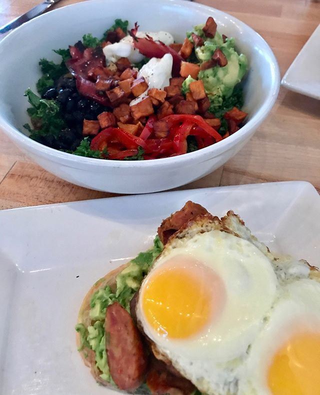 Happy mornings start at Adair Kitchen #eggs #breakfast #bowl