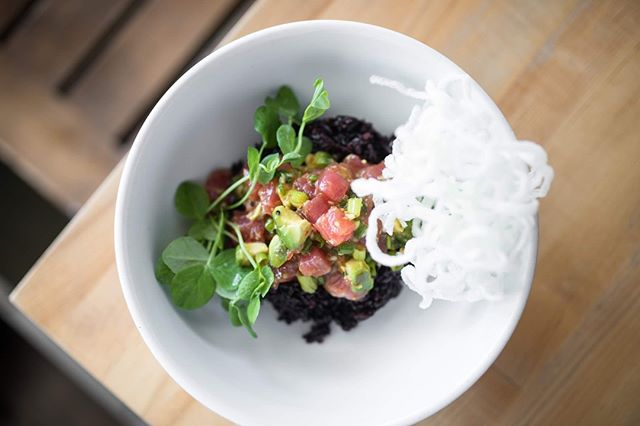 Grain Bowl goals 🥗 - Ahi Tuna Poke Bowl #poke #ahituna
