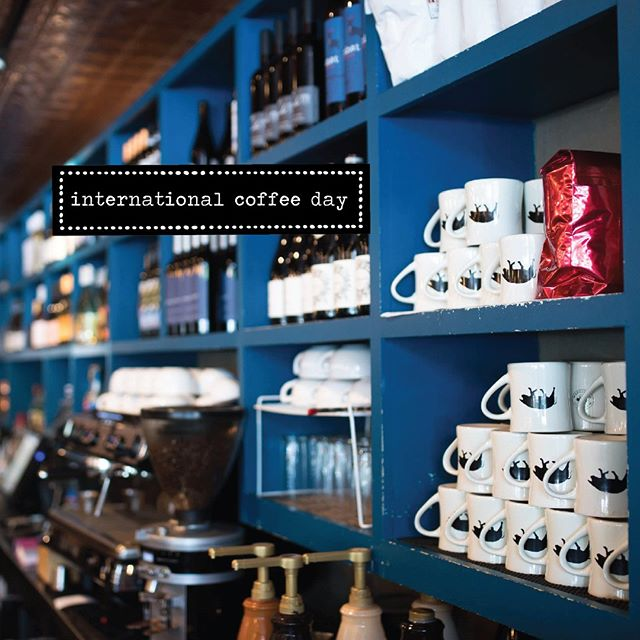 No better place to spend #nationalcoffeeday than Adair Kitchen! Come get a coffee just the way you like it!☕