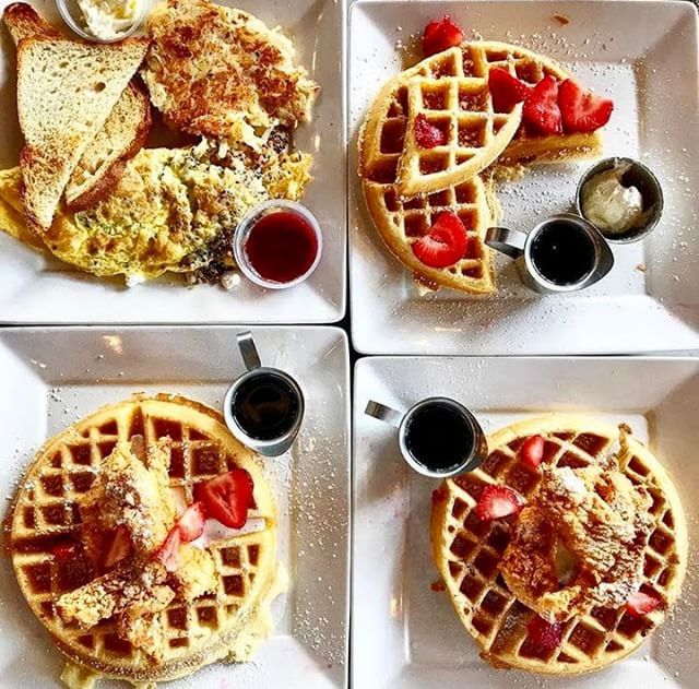 On Wednesdays we eat WAFFLES 🍓🍽️ #wafflewednesday