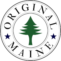 Original Maine - hats, shirts, stickers and more featuring the original 1901 Maine flag