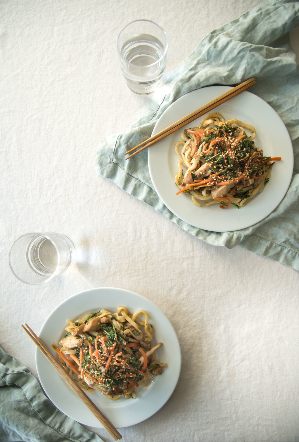 Low Waste Yaki Udon | Nourish SF