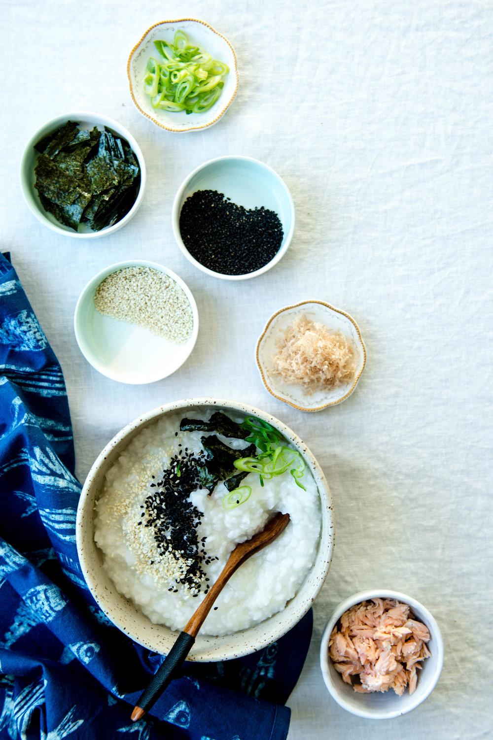 Japanese Rice Porridge | Nourish SF