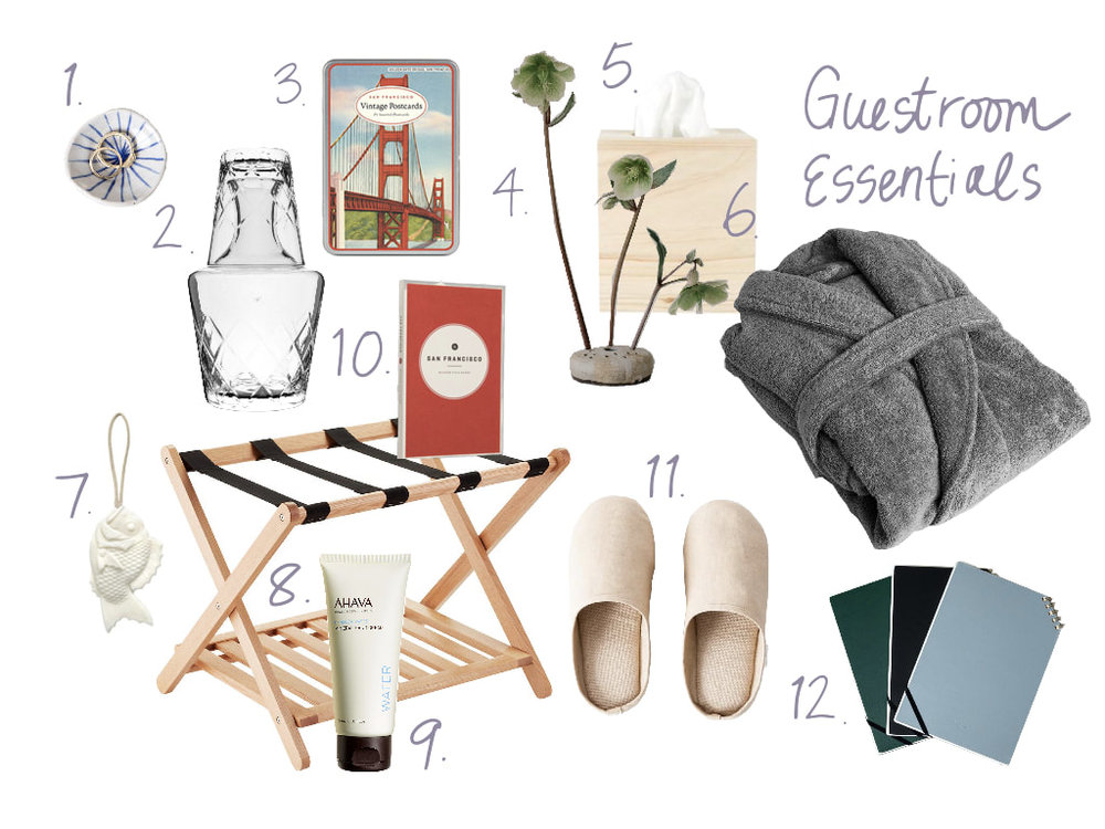 12 Thoughtful Ideas for Houseguests | Nourish SF