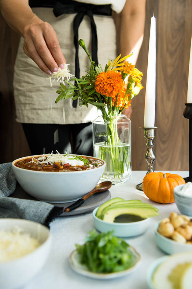 Halloween Chili Bar | Nourish SF