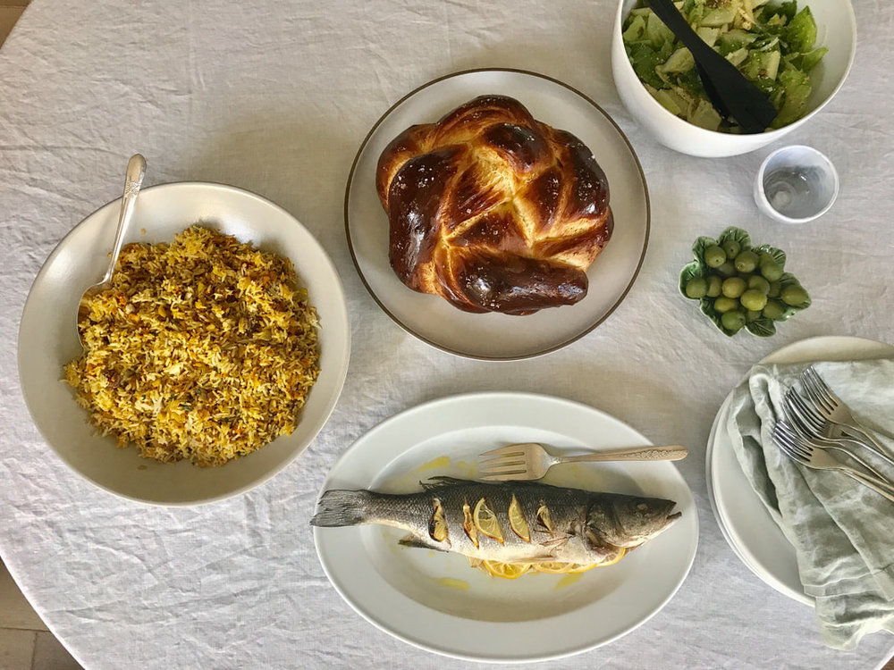 A Simple Rosh Hashanah Meal | Nourish SF