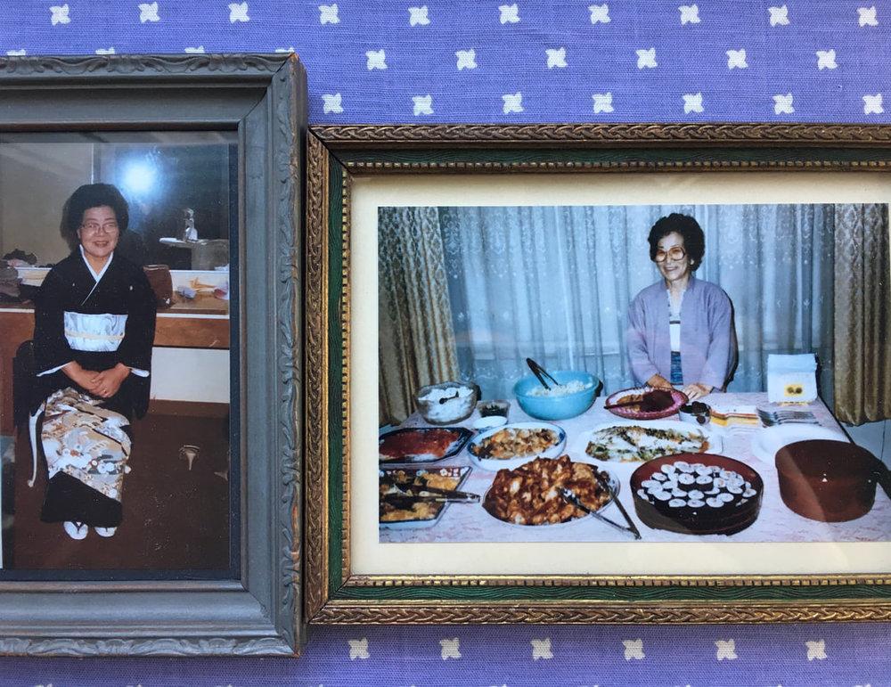 *Photos are of my Bachans (grandmas).