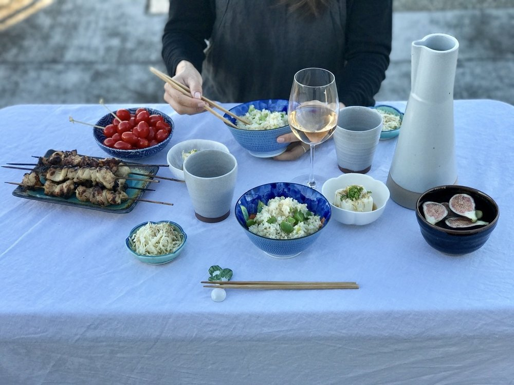 Easy Japanese Summer Barbecue | Nourish SF