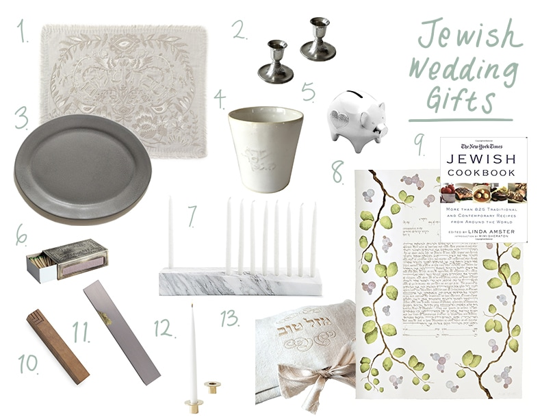 Jewish Wedding Gift Guide | Nourish SF