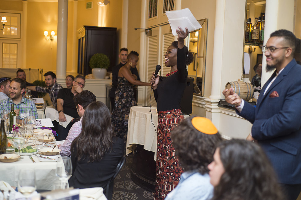 passover seder for racial justice