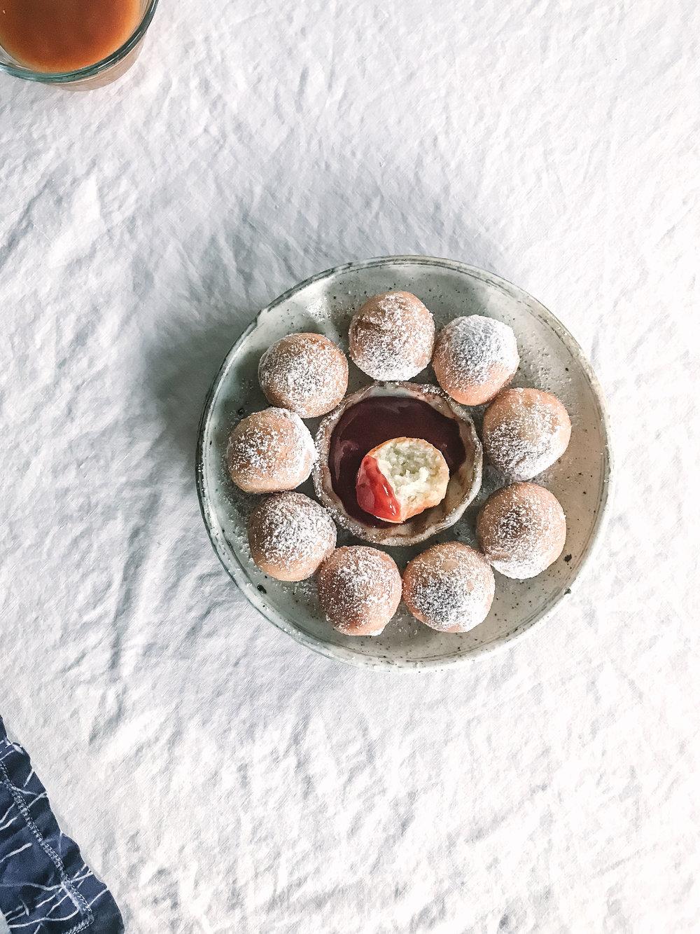 hanukkah mochi jelly doughnut