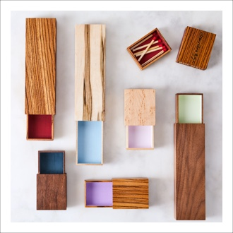 Nourish Co. Products | Wooden Matchbox