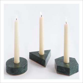 Nourish Co. Products | Stone Candle Holder