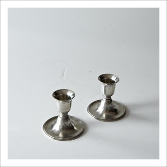 Nourish Co. Products | Pewter Candlesticks