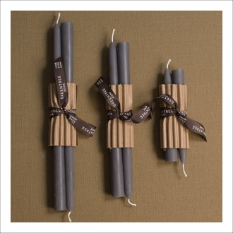 Nourish Co. Products | Gray Taper Candle