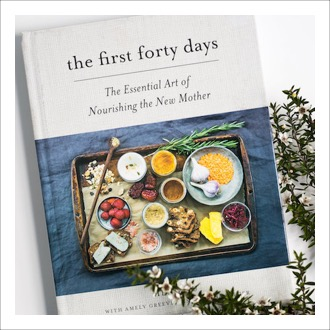 Nourish Co. Products | The First Forty Days