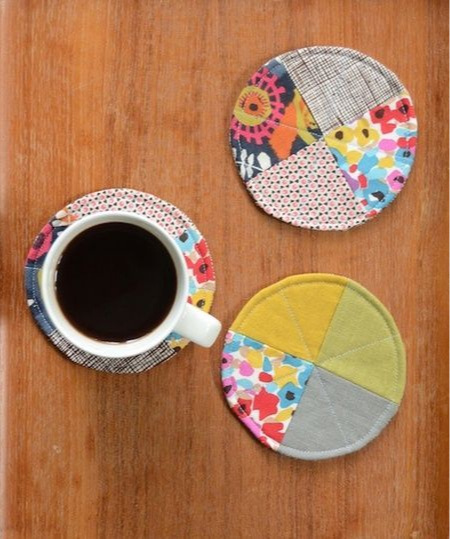 Patchwork coaster