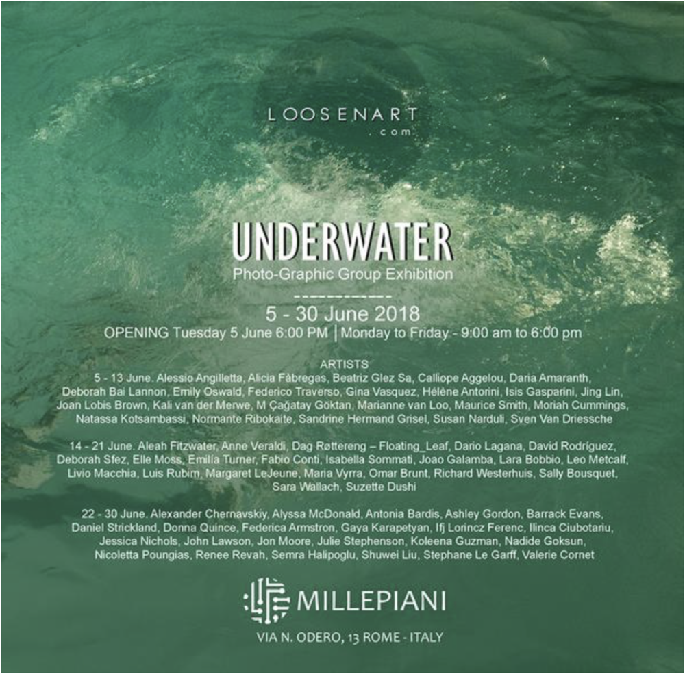 "Invitation ""Underwater Exhibition"""