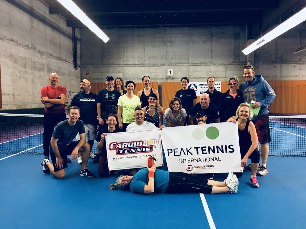 CARDIO TENNIS - Cardio Tennis is the