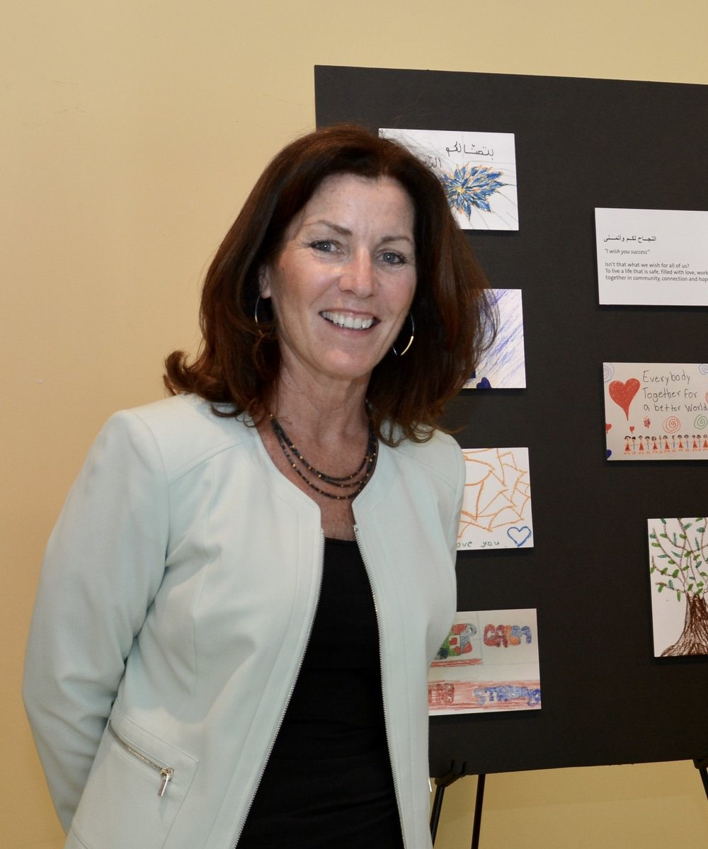 Eileen McGann, ATR-BC, LCAT  Director of the Arts and Creative Therapies