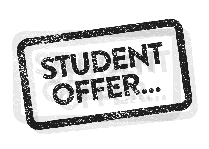 STUDENT OFFERS - We are delighted to offer students a chance to exercise their brain at a 10% discount from Sunday to Friday.