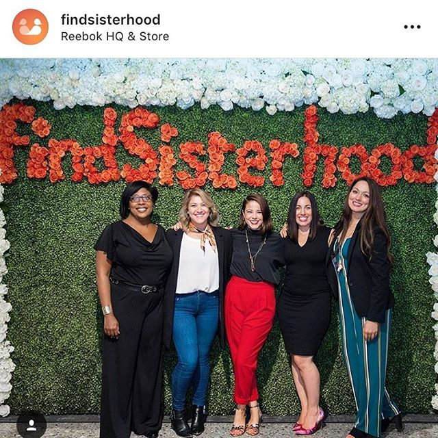 What an honor to be seated amongst these incredible ladies at @findsisterhood's launch panel! Loved discussing how Find Sisterhood is helping normalize the conversations around sex and shame. 💕 Download the app - it's out today! #app #launchparty #findsisterhood #panel #jumpsuit