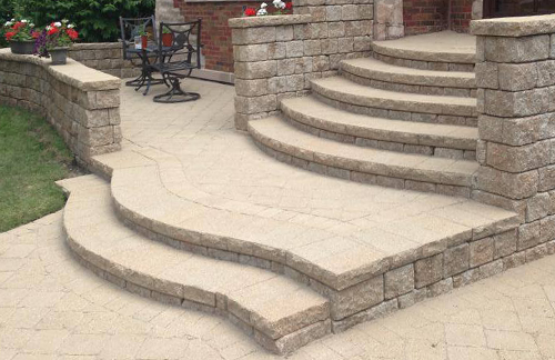 Brick Paver Stoops, Steps in Skokie, IL, Chicago, IL