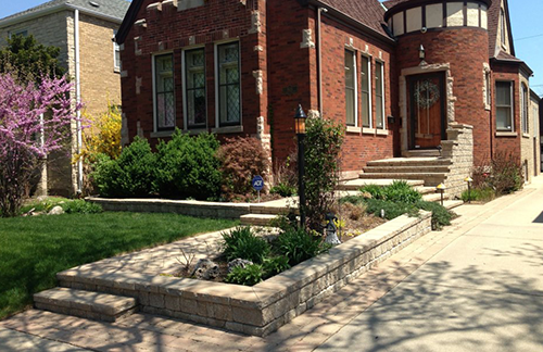 Natural Stone, Retaining Walls in Skokie, IL, Chicago, IL
