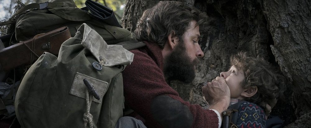 "Photo courtesy of Paramount Pictures. Still is from ""A Quiet Place"" 2018."