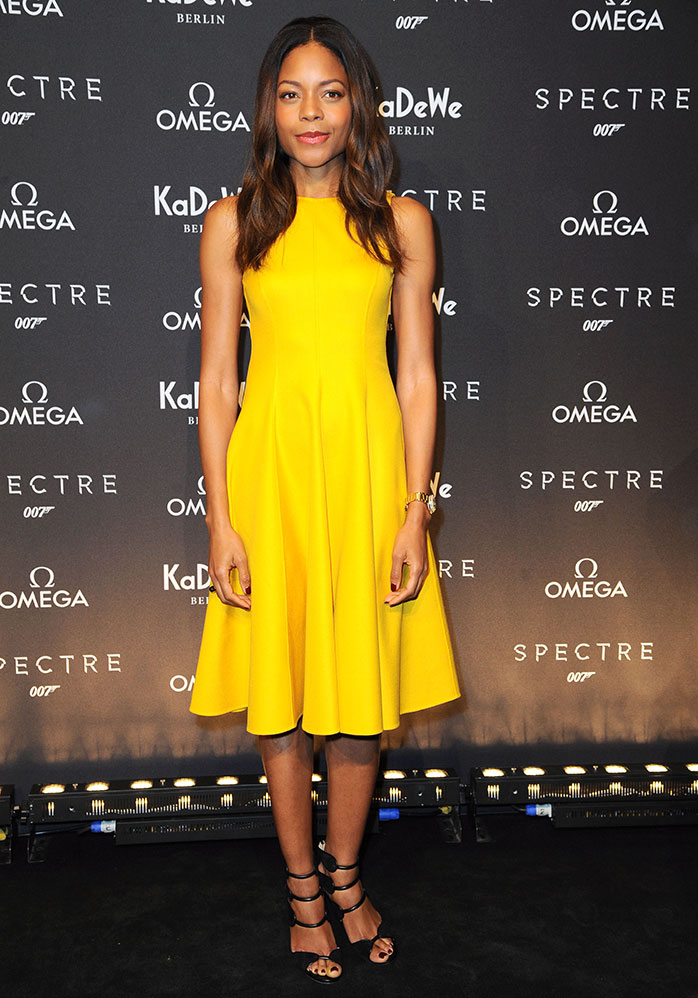 Naomie Harris wears Larkspur