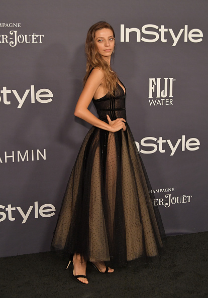 Angela Sarafyan wears Narcissus