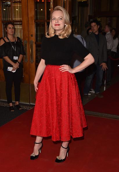 Elisabeth Moss wears Helix