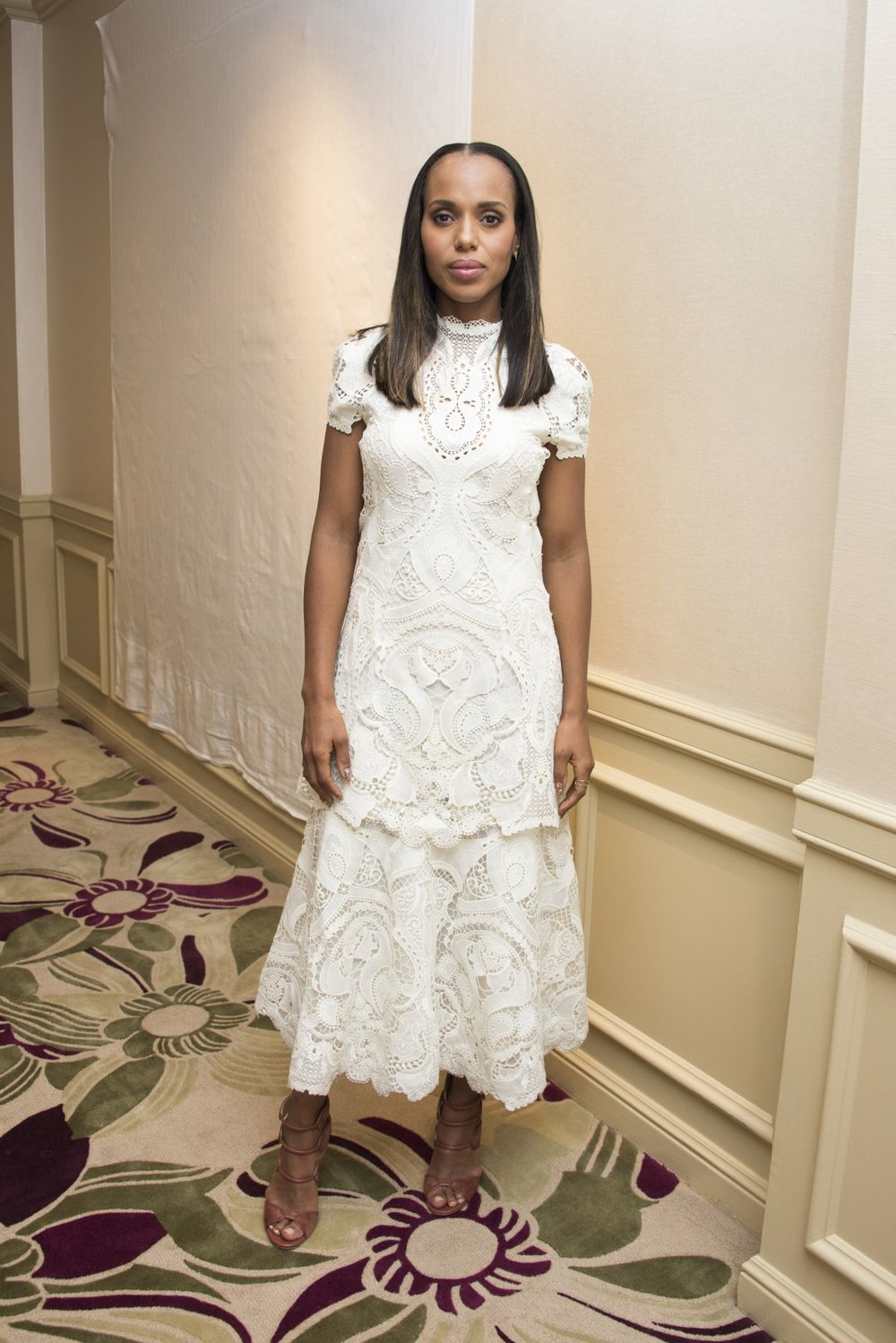 Kerry Washington wears Larkspur
