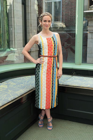 Emily Blunt wears Bryonia