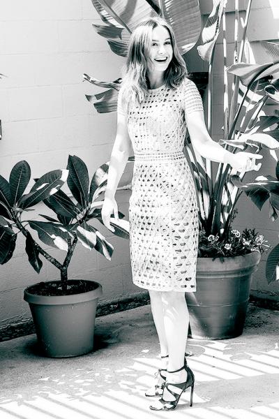 Brie Larson wears Bryonia