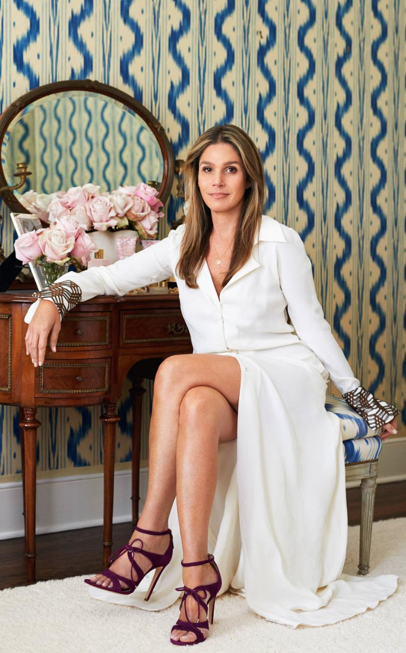 Aerin Lauer wears Bryonia