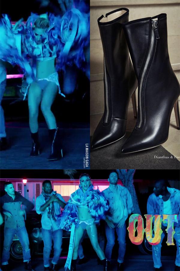 Lady Gaga wears Dianthus