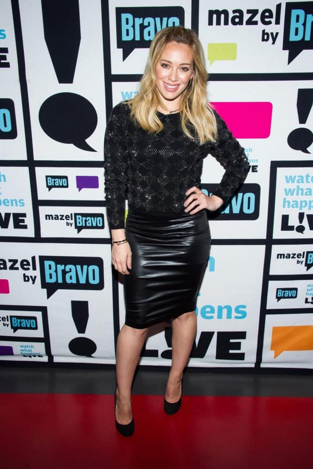 Hilary Duff wears Datura