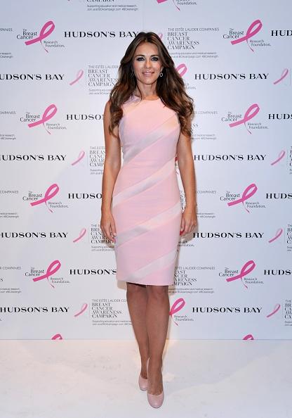 Elizabeth Hurley wears Datura