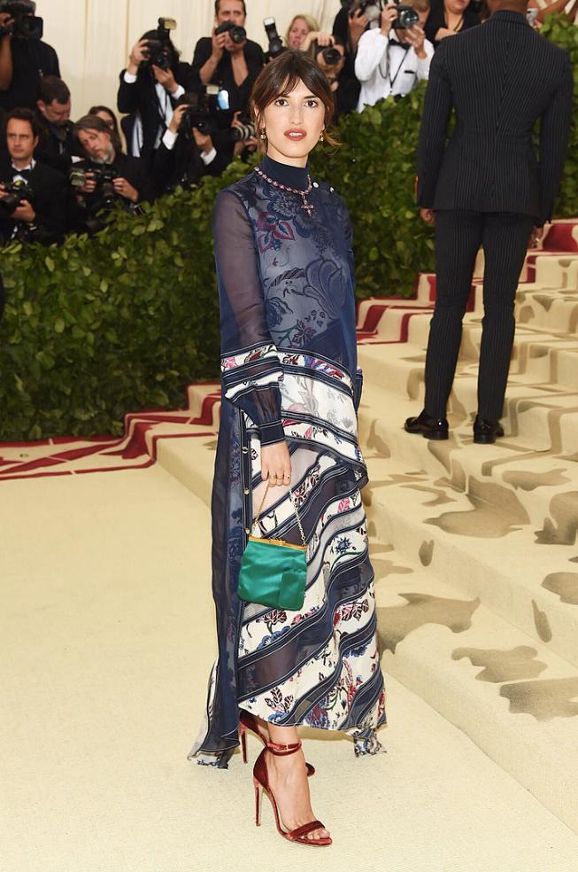 Jeanne Adams wears 'Narcissus'
