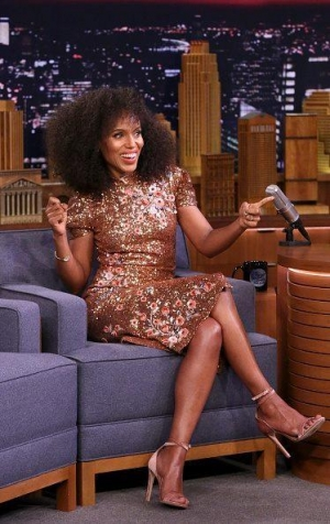 Kerry Washington wears 'Narcissus'